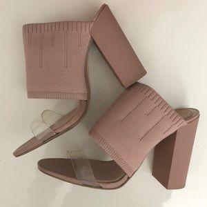 Zara heels size 39 fits like 8.5
